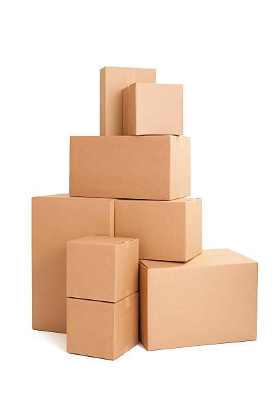 Stacked cardboard boxes:スマホ壁紙(壁紙.com)