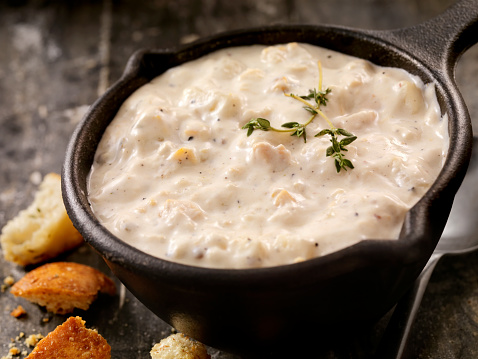 Clam - Seafood「New England Style Clam Chowder」:スマホ壁紙(8)