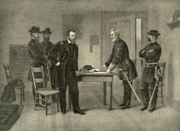 Surrendering「Surrender at Appomattox Courthouse -」:写真・画像(13)[壁紙.com]
