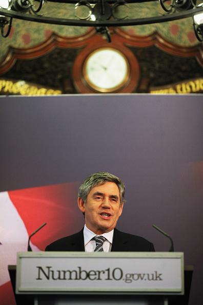 Dan Kitwood「Gordon Brown Makes A Speech On Immigration」:写真・画像(9)[壁紙.com]