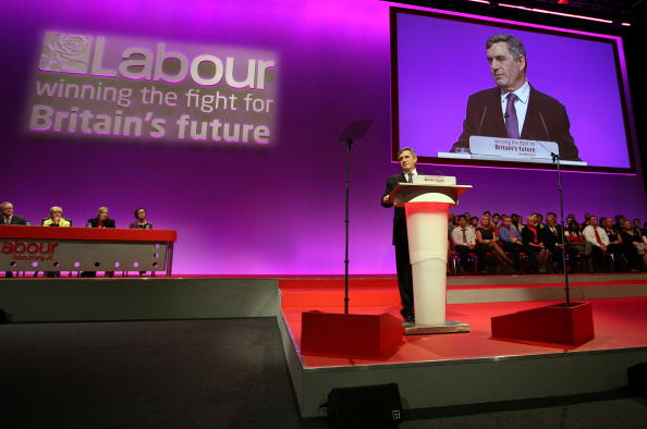 Support「Gordon Brown Addresses The Labour Party Conference」:写真・画像(12)[壁紙.com]