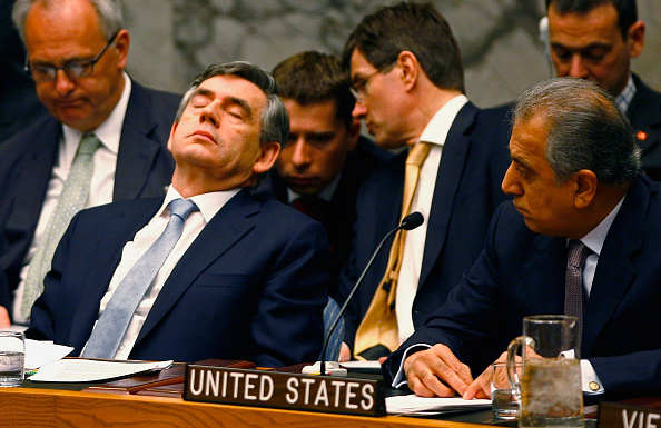 Meeting「Gordon Brown Participates In UN Security Council Debate」:写真・画像(2)[壁紙.com]