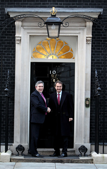 Jose Luis Rodriguez Zapatero「Gordon Brown And Leaders Of Greece, Norway And Spain Meet In London」:写真・画像(5)[壁紙.com]