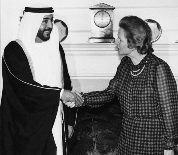 United Arab Emirates「Margaret Thatcher And Crown Prince Khalifa」:写真・画像(19)[壁紙.com]