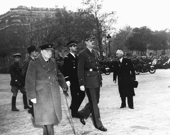 Full Length「Churchill & De Gaulle」:写真・画像(19)[壁紙.com]