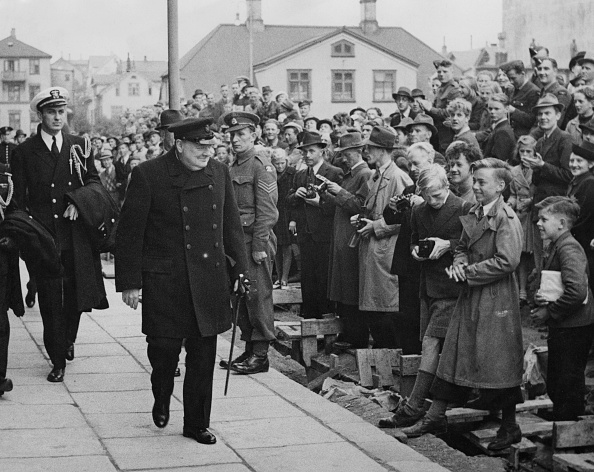 US President「Churchill In Iceland」:写真・画像(15)[壁紙.com]