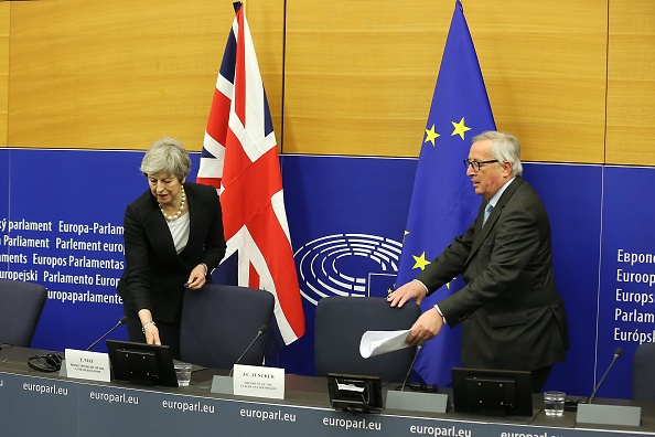 Thomas Niedermueller「British Prime Minister Makes A Statement On Brexit From Strasbourg」:写真・画像(17)[壁紙.com]