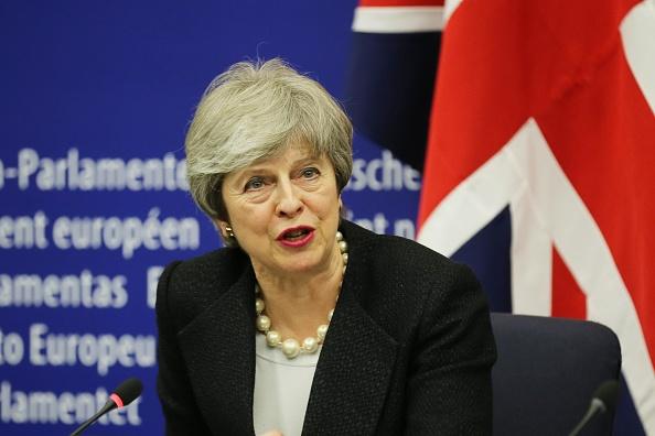Thomas Niedermueller「British Prime Minister Makes A Statement On Brexit From Strasbourg」:写真・画像(8)[壁紙.com]