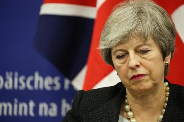 Thomas Niedermueller「British Prime Minister Makes A Statement On Brexit From Strasbourg」:写真・画像(4)[壁紙.com]
