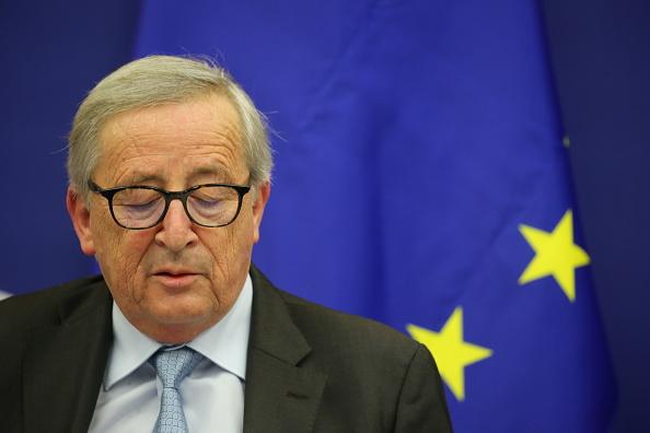 Thomas Niedermueller「British Prime Minister Makes A Statement On Brexit From Strasbourg」:写真・画像(9)[壁紙.com]