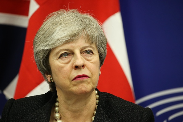 Thomas Niedermueller「British Prime Minister Makes A Statement On Brexit From Strasbourg」:写真・画像(6)[壁紙.com]
