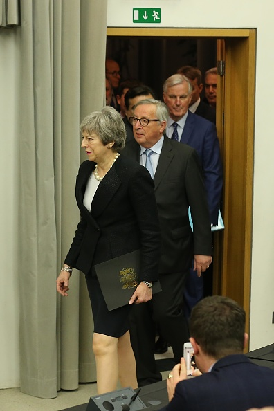 Thomas Niedermueller「British Prime Minister Makes A Statement On Brexit From Strasbourg」:写真・画像(15)[壁紙.com]