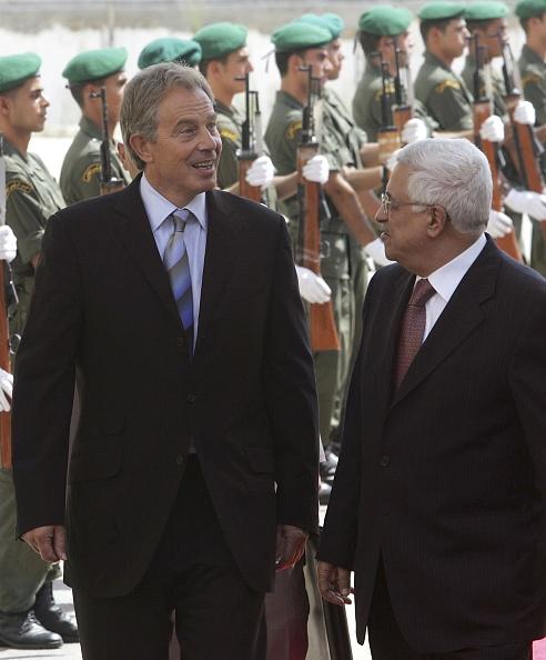 West Bank「PM Tony Blair Meets Mahmoud Abbas」:写真・画像(11)[壁紙.com]