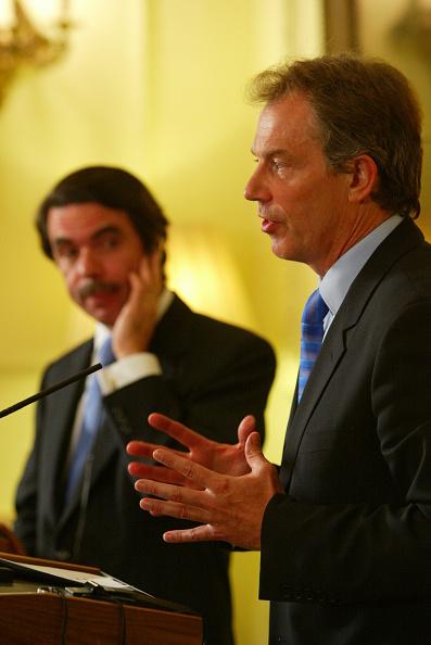 Jose Maria Aznar「Prime Ministers Blair & Aznar」:写真・画像(4)[壁紙.com]