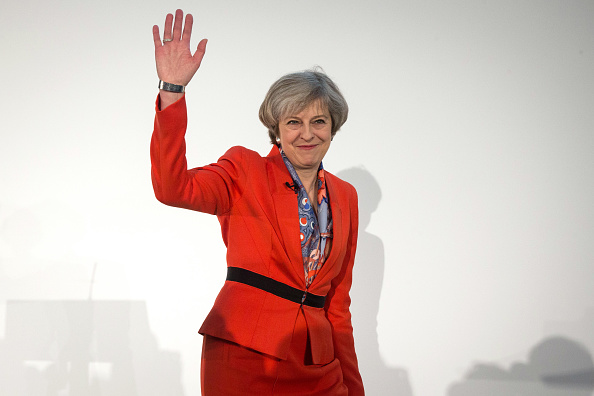 笑顔「The 2017 Conservative Spring Forum Takes Place In Cardiff」:写真・画像(14)[壁紙.com]