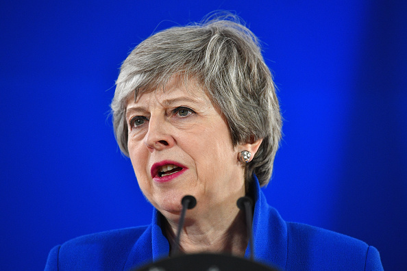 Theresa May「EU Leaders Agree to  Brexit Extension」:写真・画像(15)[壁紙.com]