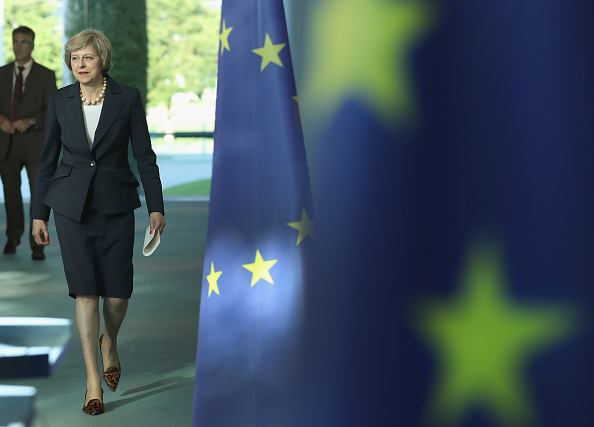 Prime Minister「Theresa May Meets Angela Merkel In Berlin」:写真・画像(15)[壁紙.com]