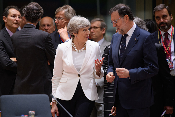 Discussion「Delegates Attend The European Council Meeting In Brussels - Day Two」:写真・画像(5)[壁紙.com]