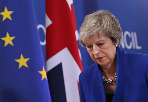 Theresa May「European Leaders Meet To Sign Off Brexit Agreement」:写真・画像(4)[壁紙.com]