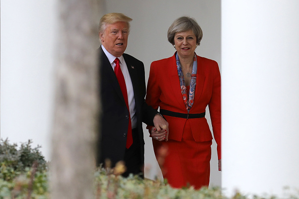 Prime Minister of the United Kingdom「President Trump Meets With British PM Theresa May At The White House」:写真・画像(14)[壁紙.com]