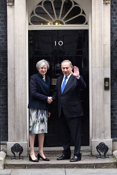 Politics and Government「Prime Minister Netanyahu Visits Theresa May In Downing Street」:写真・画像(11)[壁紙.com]