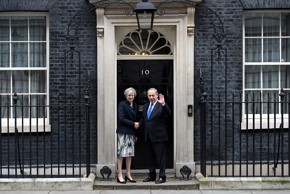 Politics and Government「Prime Minister Netanyahu Visits Theresa May In Downing Street」:写真・画像(10)[壁紙.com]