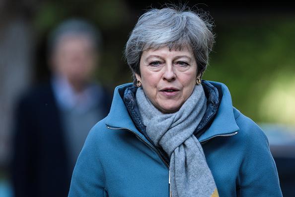 トピックス「Theresa May Attends Church With Her Husband」:写真・画像(4)[壁紙.com]