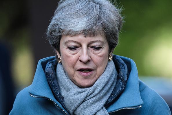 トピックス「Theresa May Attends Church With Her Husband」:写真・画像(6)[壁紙.com]