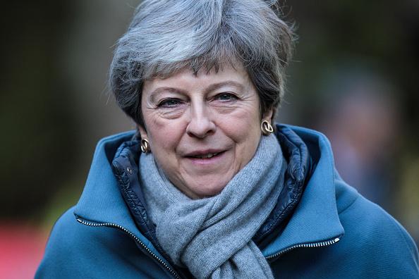 トピックス「Theresa May Attends Church With Her Husband」:写真・画像(7)[壁紙.com]