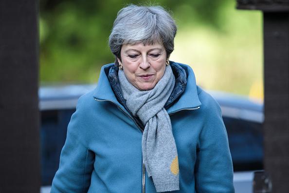 トピックス「Theresa May Attends Church With Her Husband」:写真・画像(3)[壁紙.com]
