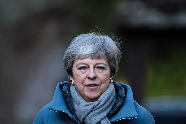 トピックス「Theresa May Attends Church With Her Husband」:写真・画像(5)[壁紙.com]