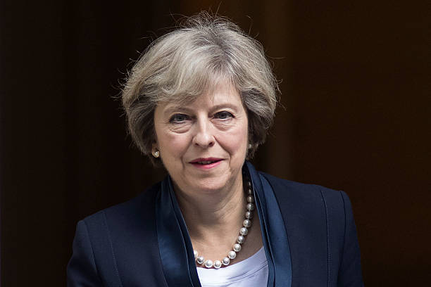 Theresa May Leaves For Prime Minister's Questions:ニュース(壁紙.com)