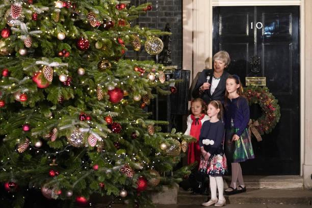 Christmas Decoration「Downing Street Christmas Tree Illuminated」:写真・画像(16)[壁紙.com]