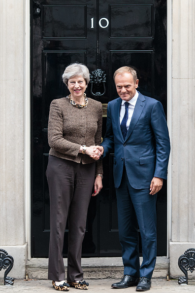 Topix「The British Prime Minister Greets The President of the European Council」:写真・画像(19)[壁紙.com]