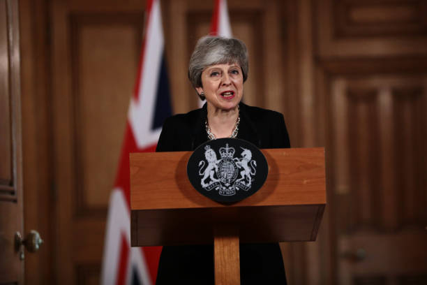 Theresa May Holds Press Conference After All-day Cabinet Meeting:ニュース(壁紙.com)