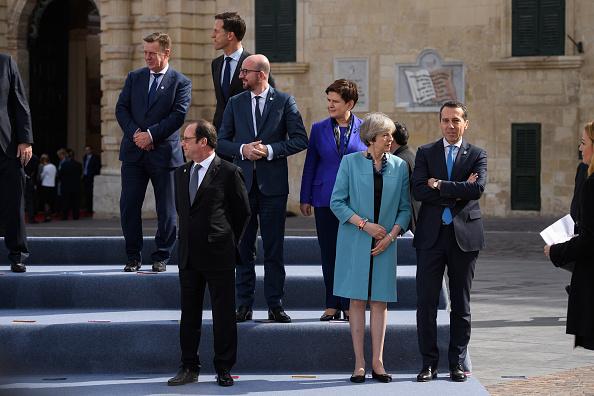 Politics and Government「British Prime Minister Attends Informal Summit Of EU Leaders」:写真・画像(3)[壁紙.com]