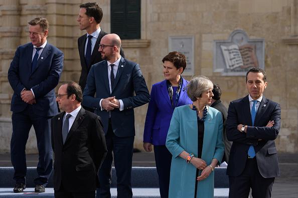 Politics and Government「British Prime Minister Attends Informal Summit Of EU Leaders」:写真・画像(2)[壁紙.com]