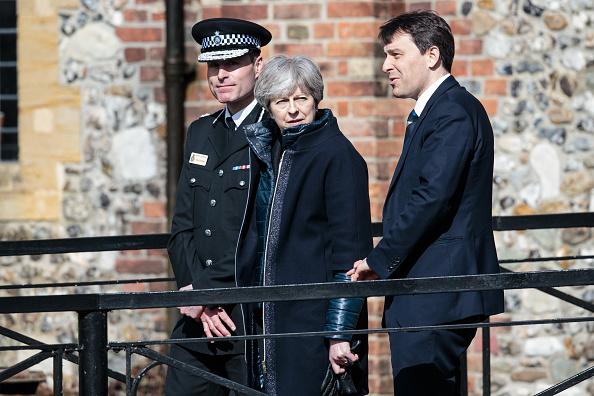 Salisbury - England「Theresa May Visits The Scene Of The Salisbury Spy Poisoning」:写真・画像(18)[壁紙.com]
