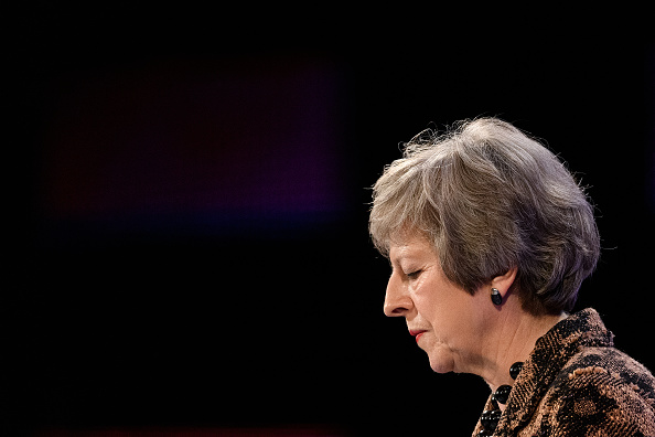 Theresa May「The 2018 CBI Conference Takes Place On The Greenwich Peninsular」:写真・画像(8)[壁紙.com]