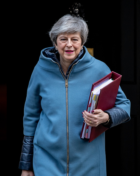 Prime Minister「Britain's PM May Leaves for Weekly Prime Minister's Questions」:写真・画像(13)[壁紙.com]