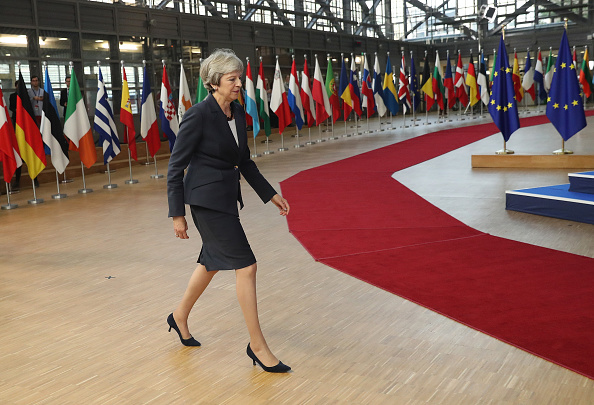Sean Gallup「The October Euro Summit Takes Place In Brussels」:写真・画像(2)[壁紙.com]
