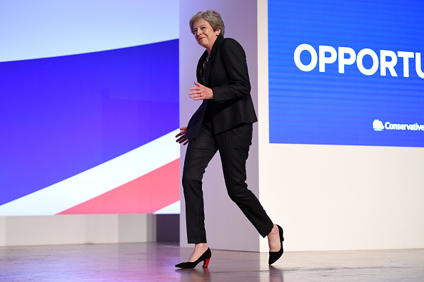 Dancing「Conservative Party Leader Speaks To Conference On Day Four」:写真・画像(0)[壁紙.com]