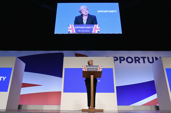 Day 4「Conservative Party Leader Speaks To Conference On Day Four」:写真・画像(16)[壁紙.com]