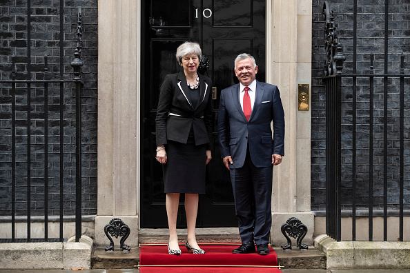 Politician「The King Of Jordan Visits Britain's Prime Minister Theresa May」:写真・画像(2)[壁紙.com]
