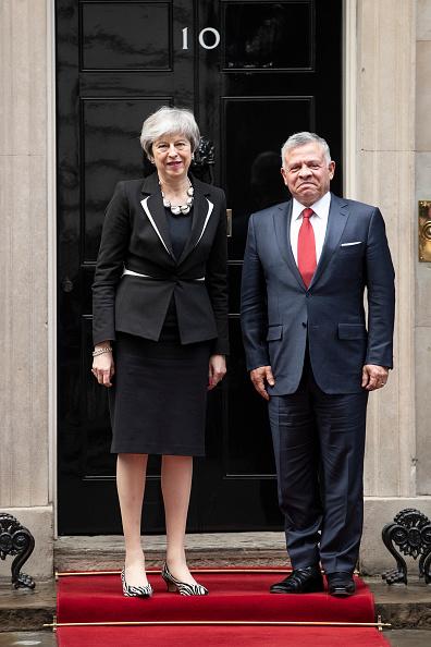 King Abdullah II of Jordan「The King Of Jordan Visits Britain's Prime Minister Theresa May」:写真・画像(8)[壁紙.com]