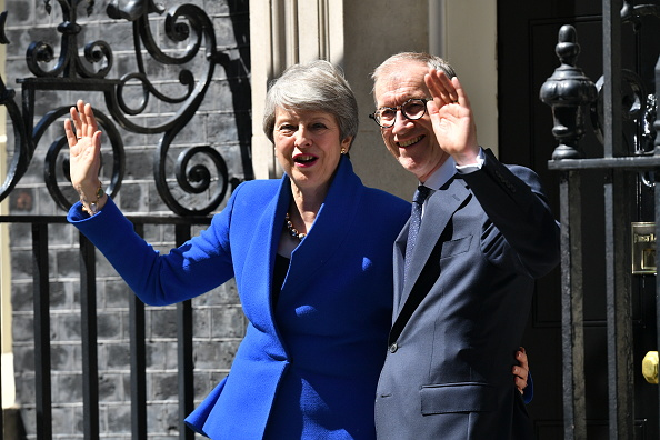 Vitality「British Prime Minister Theresa May Makes A Final Statement In Downing Street」:写真・画像(4)[壁紙.com]