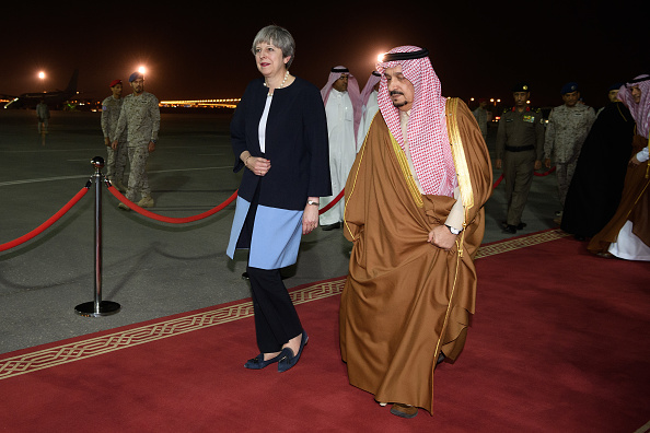 Abdul Aziz Ibn Saud「Theresa May Visits Saudi Arabia」:写真・画像(2)[壁紙.com]