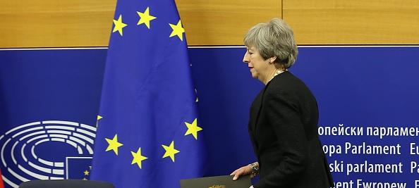 全景「British Prime Minister Makes A Statement On Brexit From Strasbourg」:写真・画像(19)[壁紙.com]