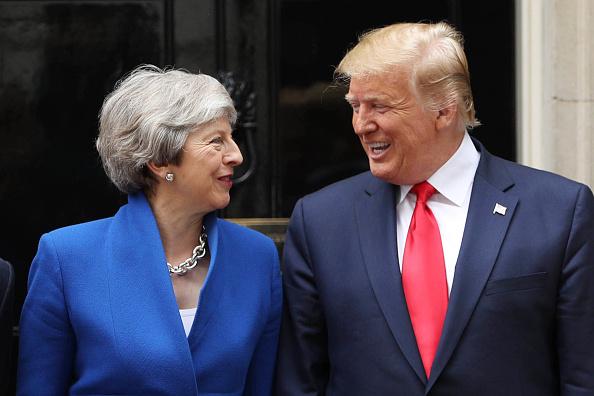 トピックス「U.S. President Trump's State Visit To UK - Day Two」:写真・画像(19)[壁紙.com]