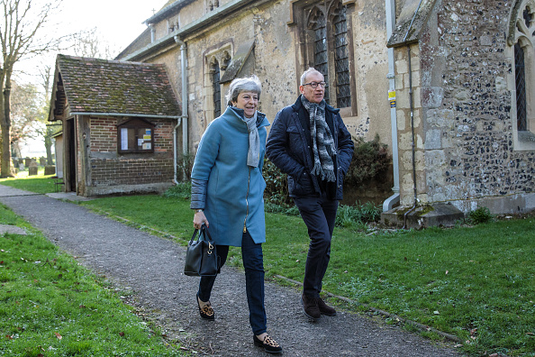 トピックス「Theresa May Attends Church With Her Husband」:写真・画像(0)[壁紙.com]